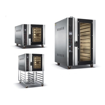 Tianyin 5 8 10 trays industrial stainless steel Bread Baking commercial electric convection oven