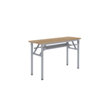 Modern foldable training table folding metal legs conference table office desk