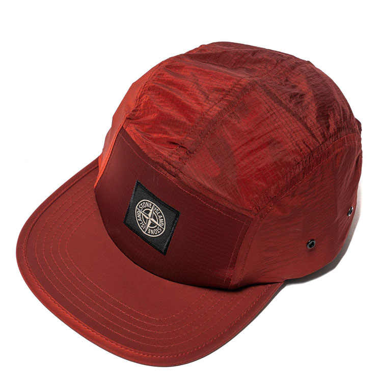 private custom fashion blank cap 5 panel unstructured nylon strap hat