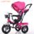 China factory three wheel kids pink and purple radio flyer tricycle