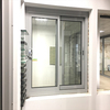 Office interior sliding window with mosquito netting wholesale price
