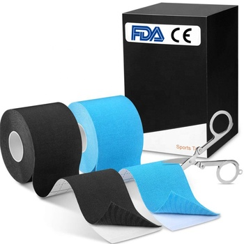 Custom Package Muscle Waterproof Pre-cut Kinesiology Tape