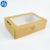 China Factory Custom Printing Disposable Paper Sushi Puff Baking Packaging Sandwich Box