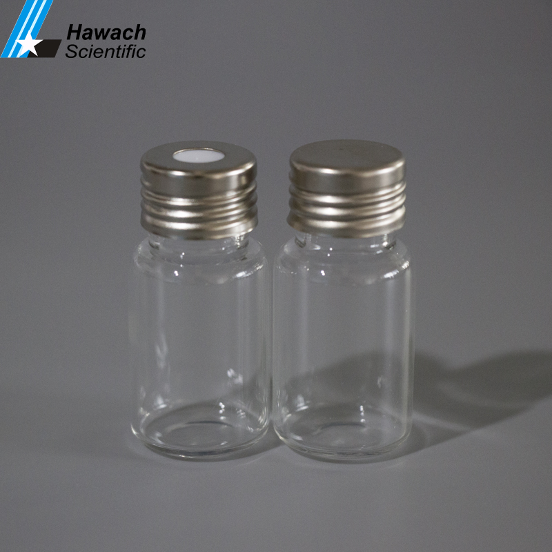 D22.5xH50 18mm Glas 20 ml Clear Headspace GC Schroef Flesjes