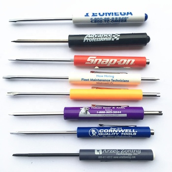 Promotional  pocket screwdriver with magnet top