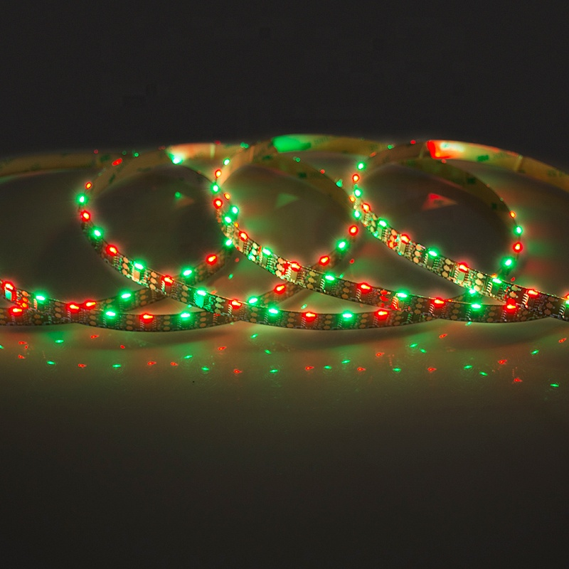 1led 1pixel WS2811 5V 60LED Side Emitting 020  addressable RGB flexible led strip