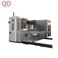 GIGA Automatic Pizza Carton 4 Colors Flexo Printing Machine Prices China