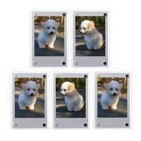 Custom Size Acrylic Compatible Wall Magnetic Photo Frame Double Sided Fujifilm Instax Mini Magnet Frame for Sale