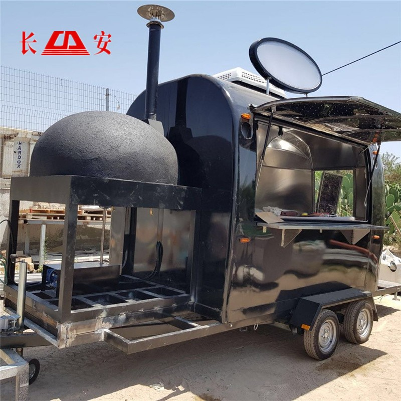 Pizza oven snack fast food truck