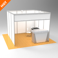 High Quality Advertising Standard Modular Wall Shell Scheme Event Display Fair Expo Exhibition Stand