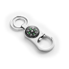Custom metal compass keychain/compass with car key ring chain