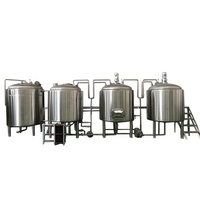 turnkey project of brewery 10BBL 1200L whole set brewery equipment beer brewing