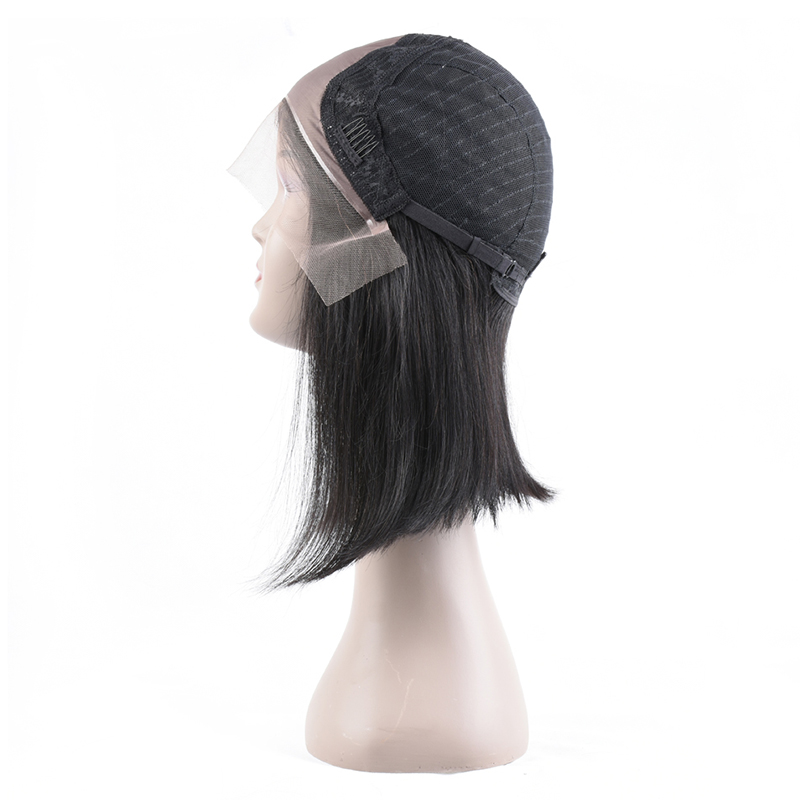 Cheap 10A Grade Human Hair Lace Front Wig, High Quality 100% Brazilian Human Full Lace Human Hair Wig 0160 Vendor