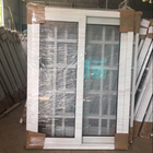 Best price new design pvc windows with iron steel CE certification