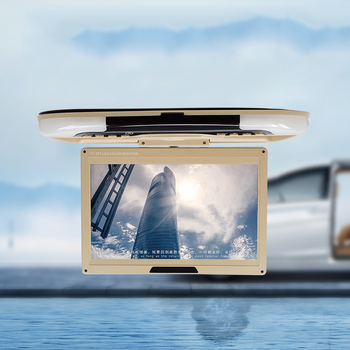 For bus TV Display 12.1 inch flip down car lcd monitor roof mount monitor with usb sd card input