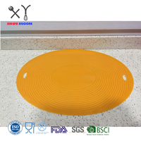 amazon best sellers extra large microwave oven heat resistant silicone mat for hot pot dish drying