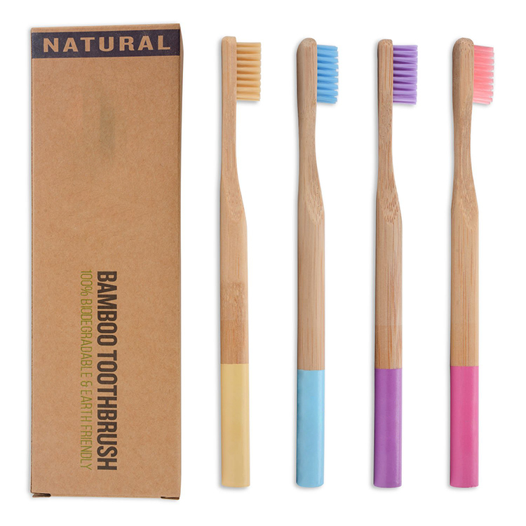 Soft Nylon Bristles Organic Eco Friendly Toothbrush <strong>Bamboo</strong>