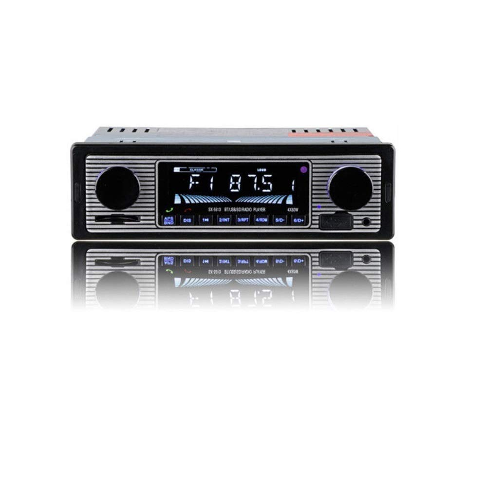 Auto 12 V Motore Radio Stereo Lettore 4 Channel Digital Audio Bluetooth USB/SD/FM/WMA/ MP3/WAV