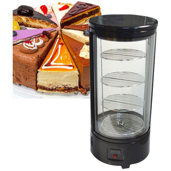 110v 220v Refrigerated Cake Showcase Commercial Pie Display Case Cabinet