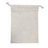 Handmade Factory Outlets Organic Muslin Drawstring Gift Bag With Custom Logo
