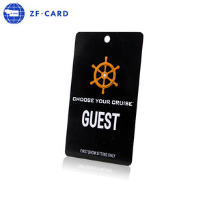 Hotel room card FM11RF08 13.56MHz custom magnetic strip blank credit card visa playstation gift card Chinese manufacture