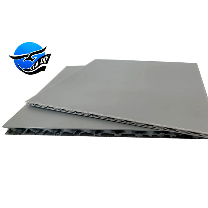 custom <strong>all</strong> sizes packaging plastic double wall honeycomb sheet pp corrugated <strong>board</strong>