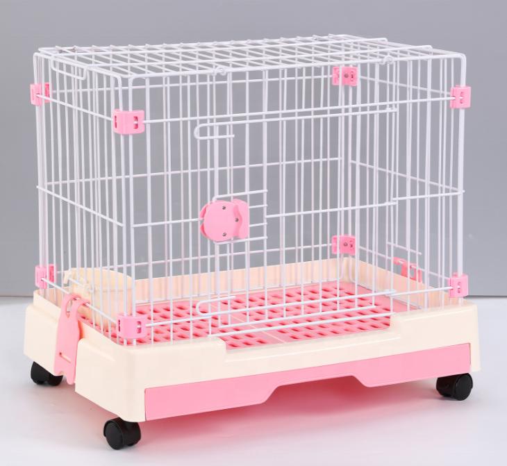 Simple Durable solidez perro mascota gato jaula caja para mascotas perro gato al aire libre