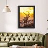 Modern Painting Picture Print Wall Light Up Decoration Animal Led Canvas Art