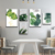 Lotus still life HD micro spray restaurant wall art Set decoration Canvas Painting