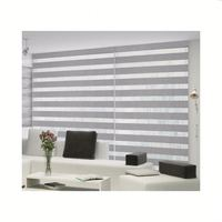 Cheap lowest price indoor manual window shades blackout motorized Zebra blinds