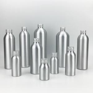 2019 Hot Selling Products 50ml 100ml 200ml 250ml 500ml Shampoo Aluminum Bottle with Aluminum Cap/Plastic Sprayer