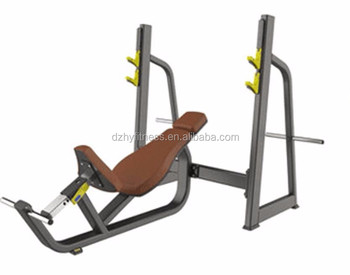 Commercial fitness equipment gym equipment Incline Bench