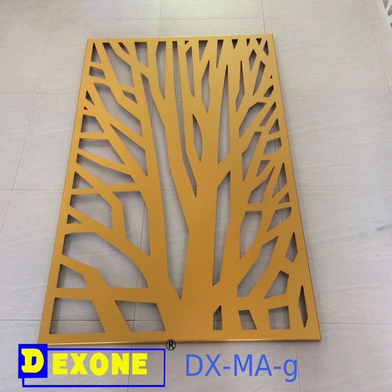 Cnc Metal Engraved Panel For Fence Screen With Modern