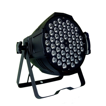 LED color stage par can light 54x3w RGB 3-IN-1 tri color led par 64
