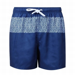 Fast delivery custom swimwear beach pants oem mens polyester board shorts