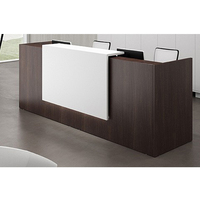 Commercial Furniture Modern Office Front Counter Reception Desk