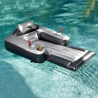 New Design Motorized Inflatable Lake River Pool Float Lounge Chair for People