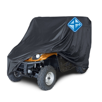 High quality silver coated waterproof ATV cover