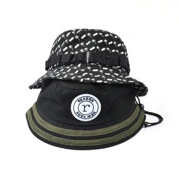 New 5 panels fashion caps Bucket Hat For Men Women Fishermen Hat Fashion Bucket Cap