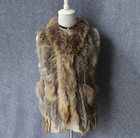 Fashion Genuine Rabbit Fur Jackets For Women