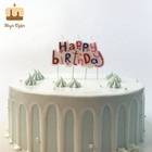 Decorative Big Letter Birthday Cake Candles For Babies