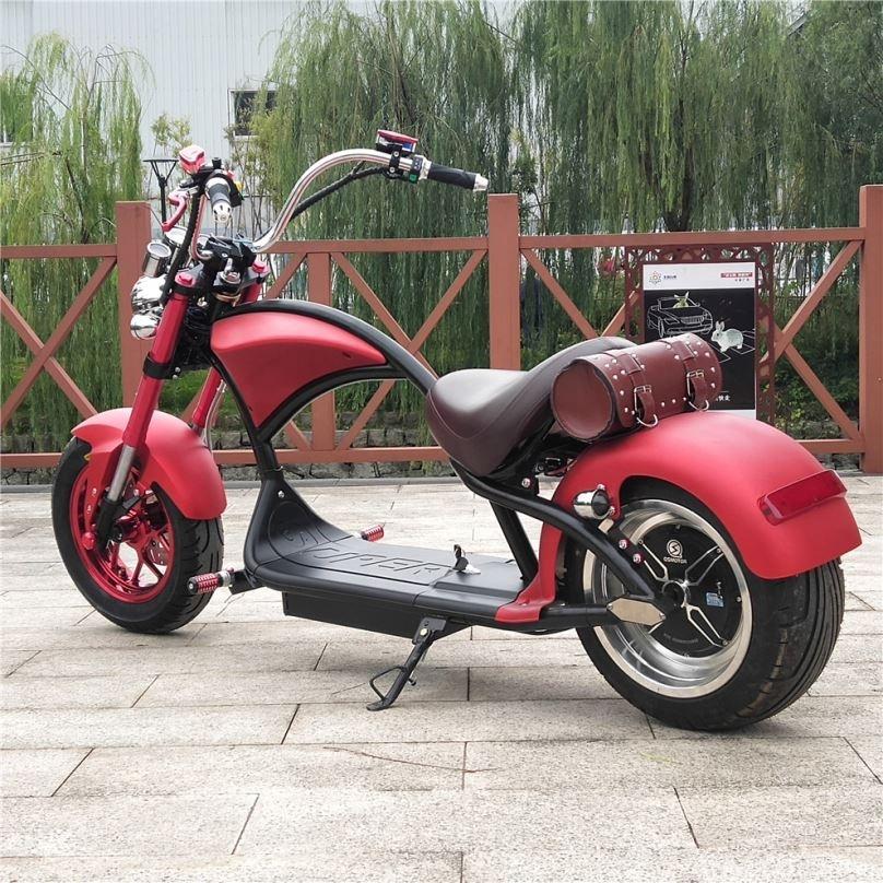 YIDE fabricación Velocidad máxima 75 KM/H dos ruedas Scooter Eléctrico Citycoco 3000W