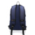 Durable 600D Heather Polyester Custom Branded Fashion Adults Work Travel Unisex Fashionable USB Charging Backpack