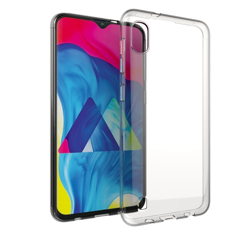 Transparante Siliconen Soft TPU Phone Case Voor Samsung Galaxy A10