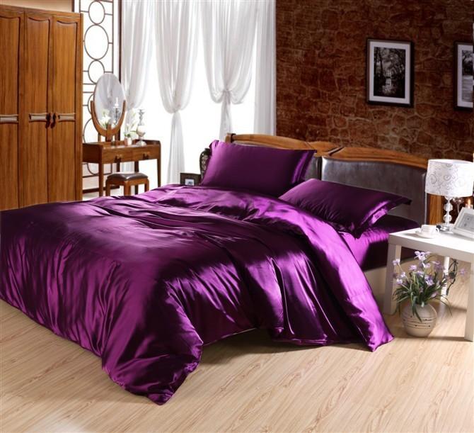 Wholesale Twin Full Queen King Silk Bedding Comforter