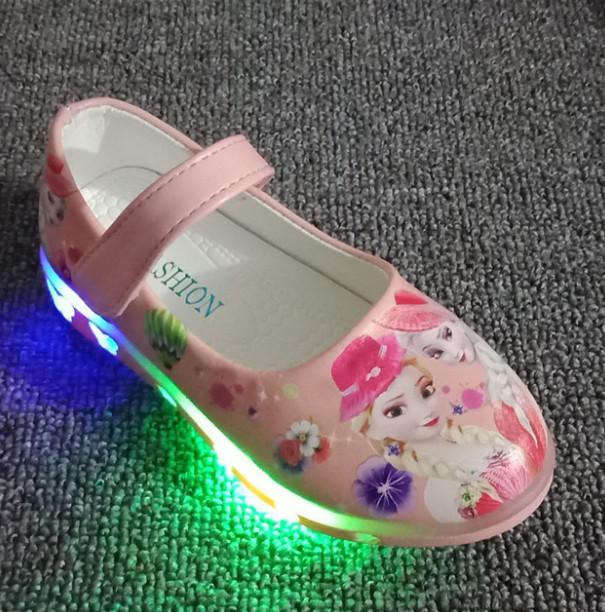 Shoes Girls,Led Lights Kids Shoes