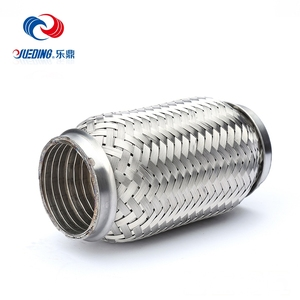 stainless steel exhaust flexible pipe for heavy duty truck auto parts exhaust system