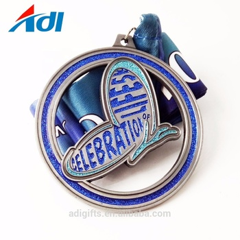 high quality custom running sport metal medallas for sale