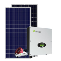 1KW 2KW On Grid Solar Energy System 1000W Solar Systems For House Smart Module Kits 1kva Complete Solar kit for farm use