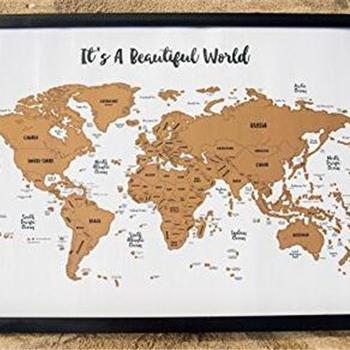 Reise Karten Es Ist Eine Schone Welt Kratz Ihre Reisen Track